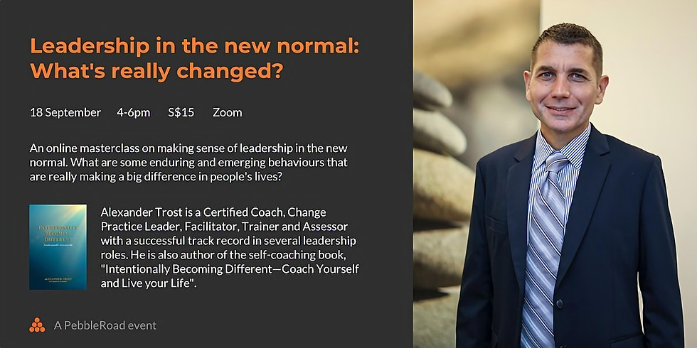 Leadership in the new normal: What's really changed?