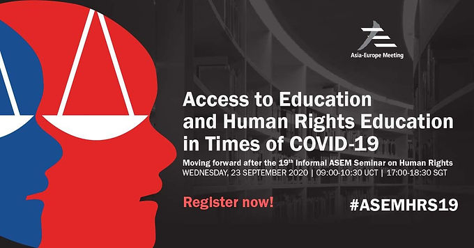 Access to Education and Human Rights Education in Times of COVID-19
