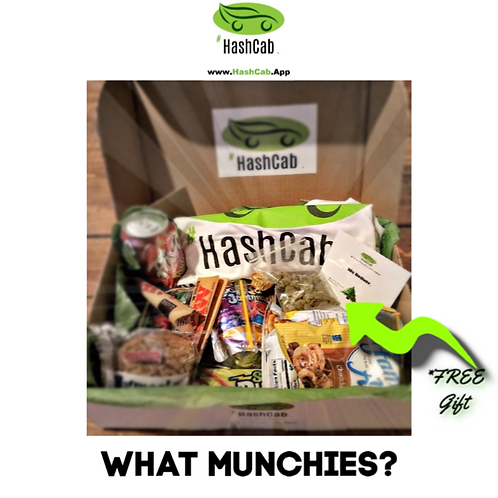 #HashCab Snack Pack Gift Package