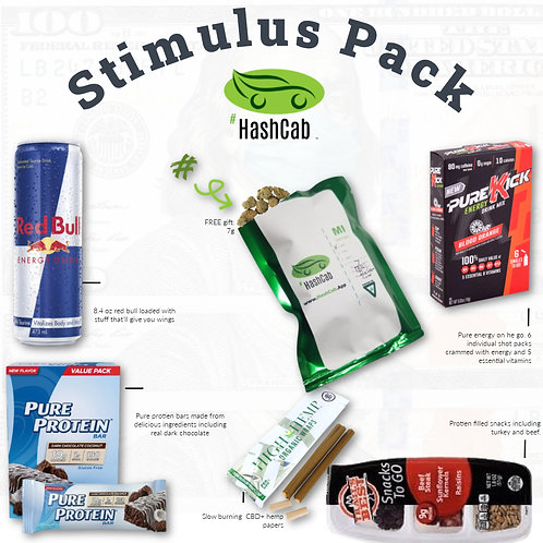HashCab Stimulus Pack Delivery(7 pts)