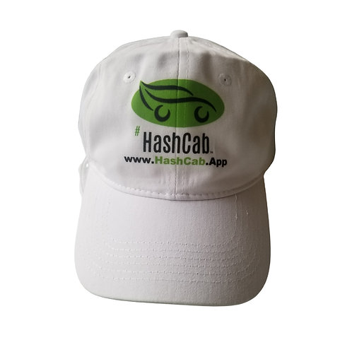 HashCab Baseball Cap - White