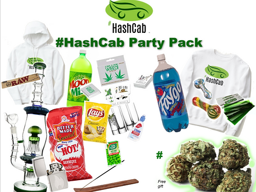 #HashCab Party Pack Gift Package
