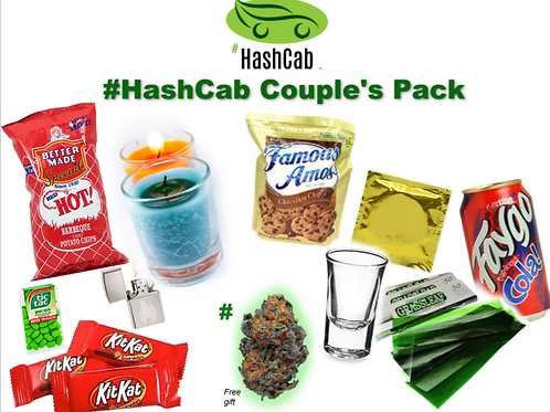 #HashCab Couple's Pack Gift Package