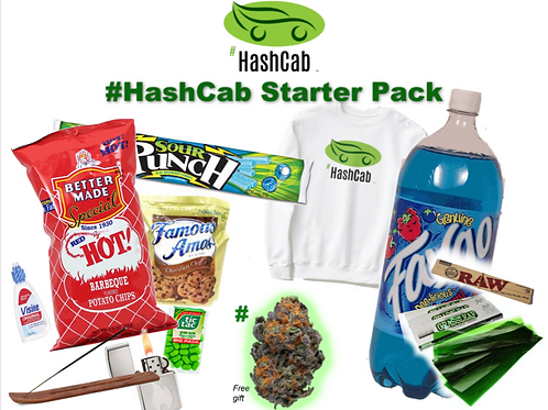 #HashCab Starter Pack Gift Package