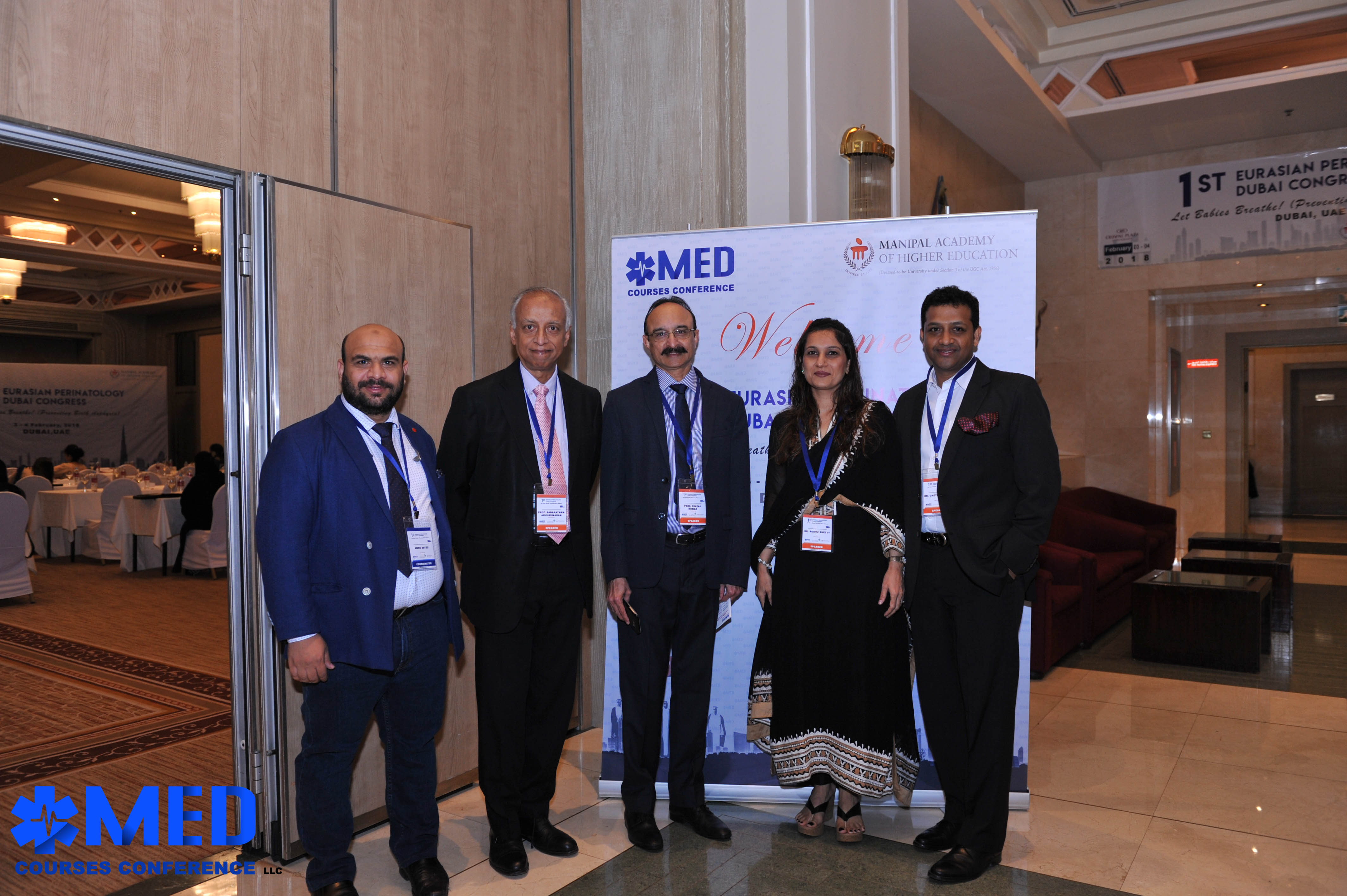 Speakers with Mr. Amr Sayed