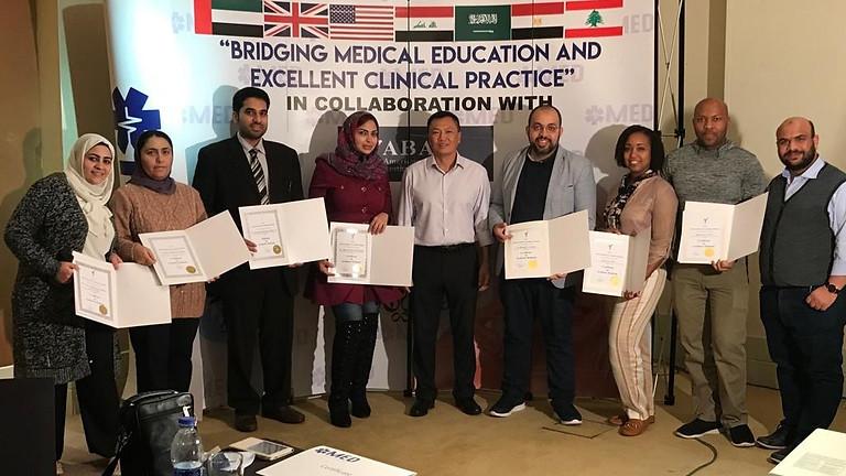 Step 1 & 2 - American Board of Aesthetic Medicine - Egypt - November 2021