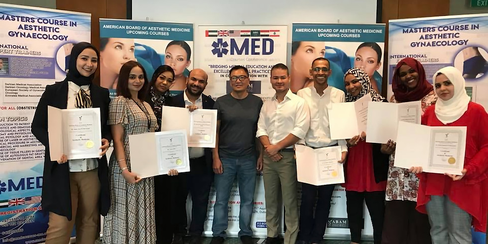 American Board of Aesthetic Medicine - Dubai 2019