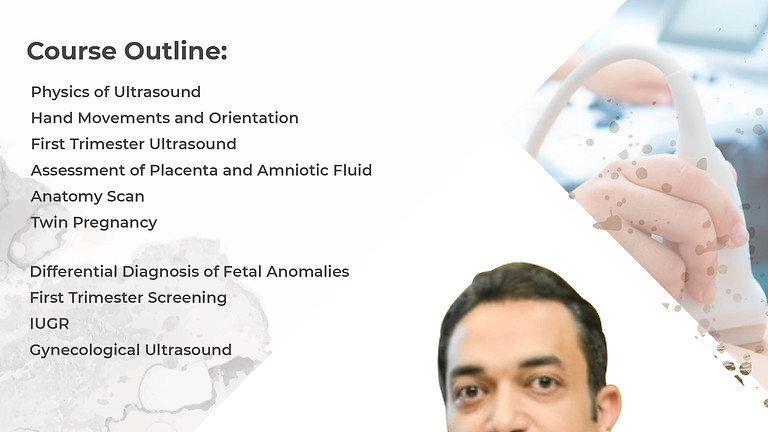 Basic & Advanced Course in Obstetric Ultrasound