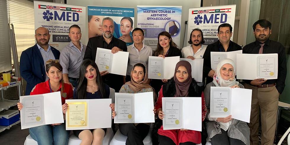 American Board of Aesthetic Medicine - Lebanon July 2019