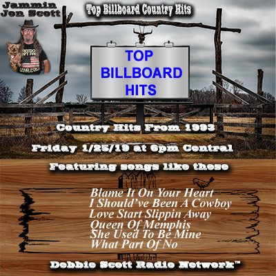 Top Country Hits 1993 | Billboard Country | Debbie Scott Radio Network