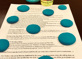 Play-ing Jesus with Play-Doh
