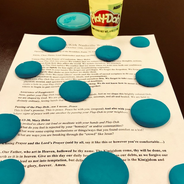 Play-Doh Prayers