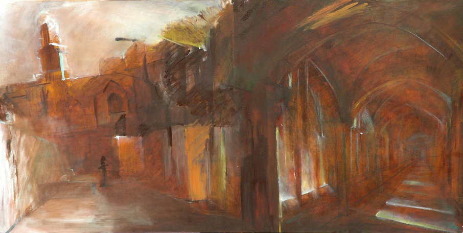 Nomi Drory Alley and Colonnade_2009.jpg