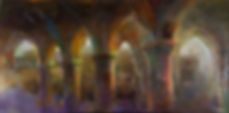 Colonnade, Oil on Canvas, 30x60.jpg