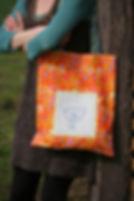 ručně šitá plátěnka