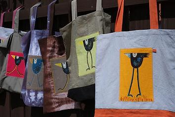 batikované tašky