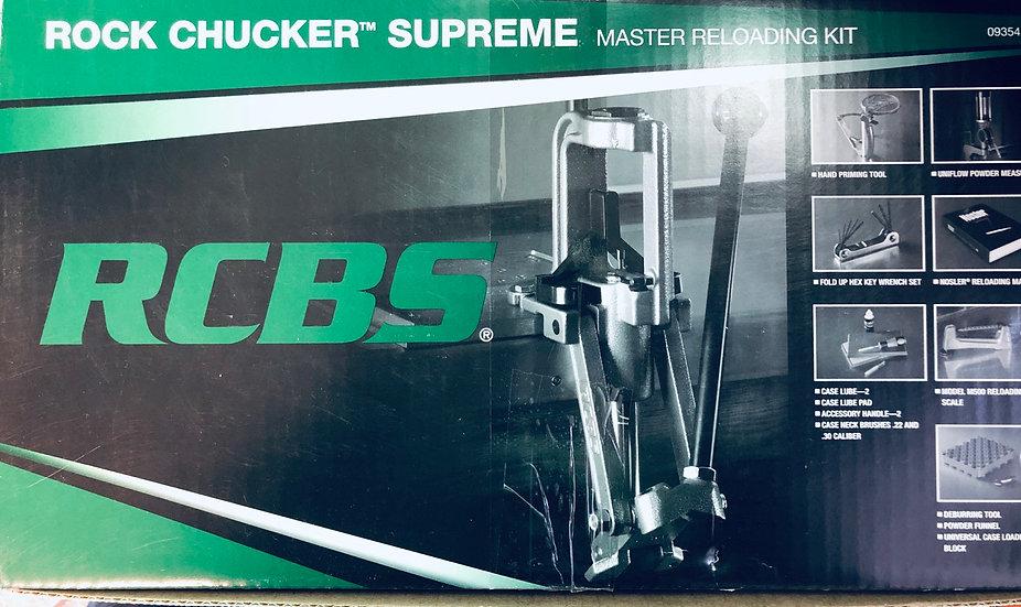 RCBS Rock Chucker Supreme kit