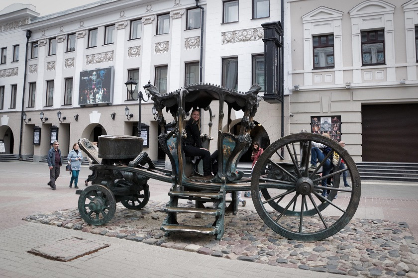 Denkmal der Kutsche Katharina II - Kasan