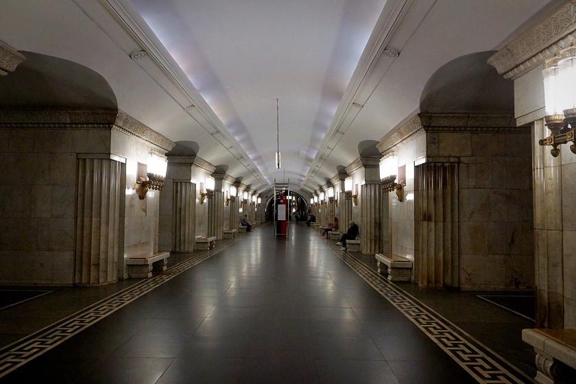Metro Station in Moskau