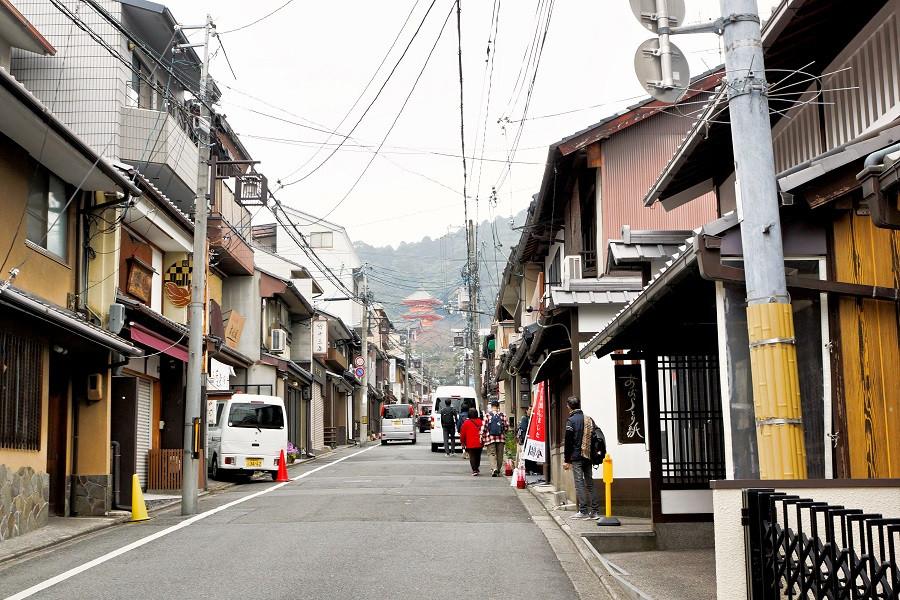 Higashiyama Distrikt - Kyoto