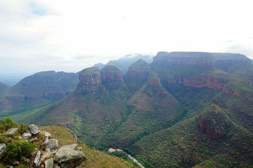 Three Rondavels - Panorama Route