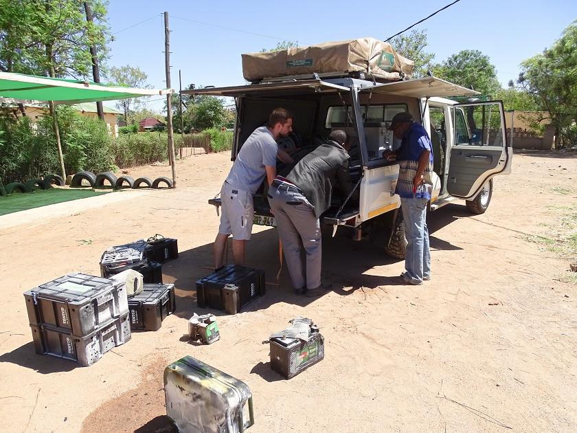Autobrand in Botswana