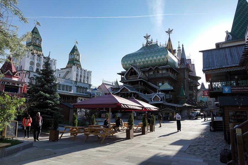 Kreml in Ismailowo von innen - Moskau