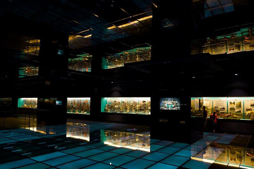 Ausstellungsraum im Nationalmuseum - Astana