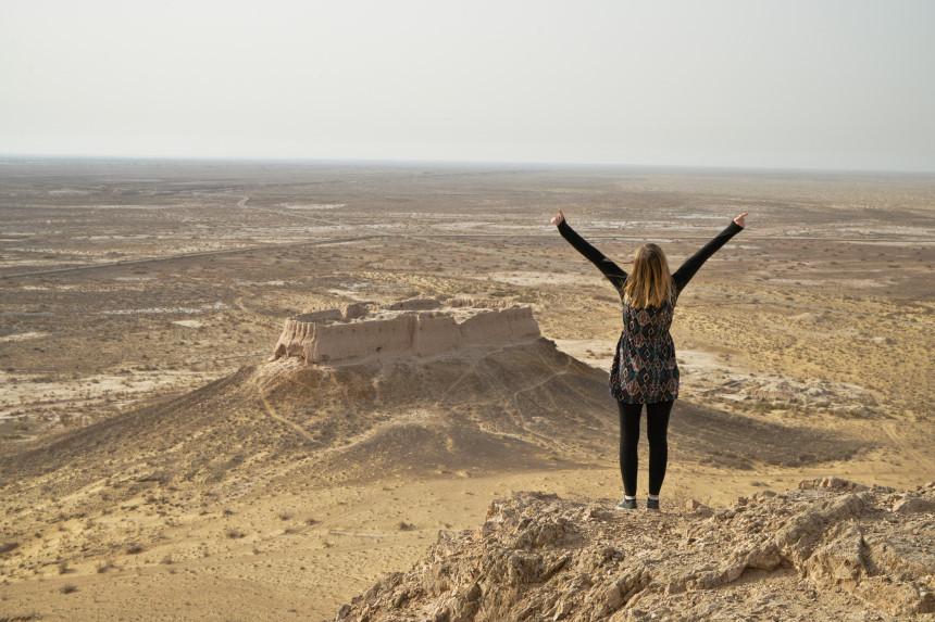 Ayaz Kala Festung in Usbekistan