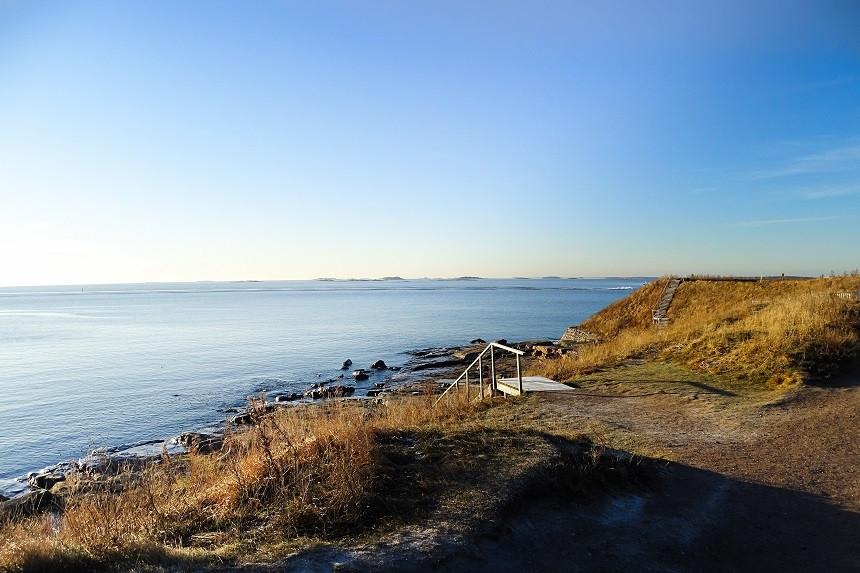 Ausblick von Soumenlinna - Helsinki