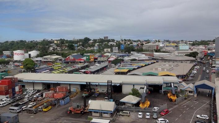 Suva Stadtzentum - Fidschi