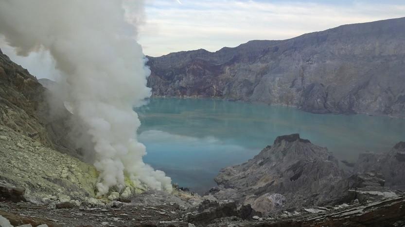 Kawah Ijen - Kratersee