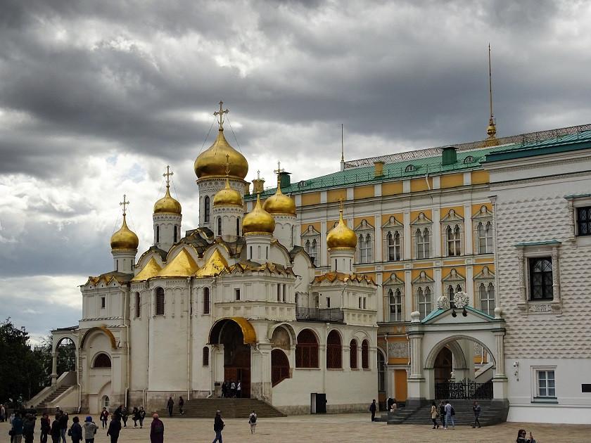 Mariä-Verkündungs-Kathedrale im Kreml - Moskau