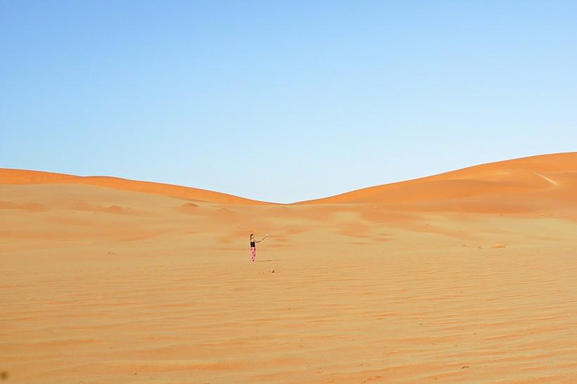 Mitten im Nirgendwo - Sossuvlei Namibia