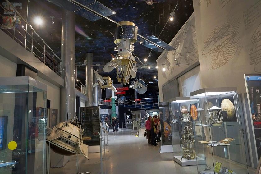 Kosmonautenmuseum in Moskau