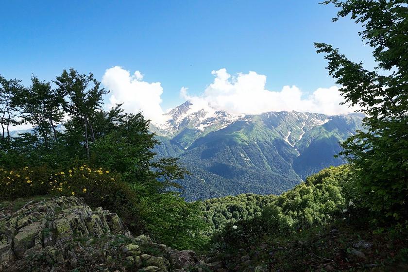 Wandern im Sotschi Nationalpark