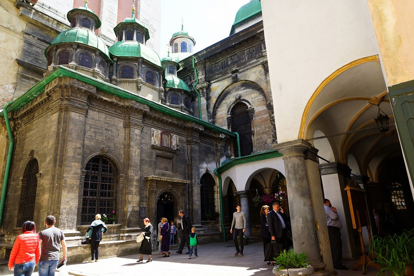 Maria-Entschlafens-Kirche - Lviv