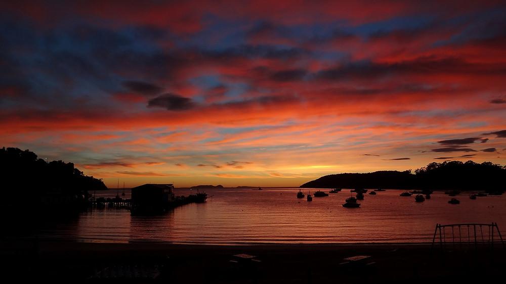 Stewart Island Sonnenaufgang