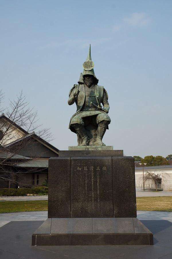 Bronzestatue Kato Kiyomasa