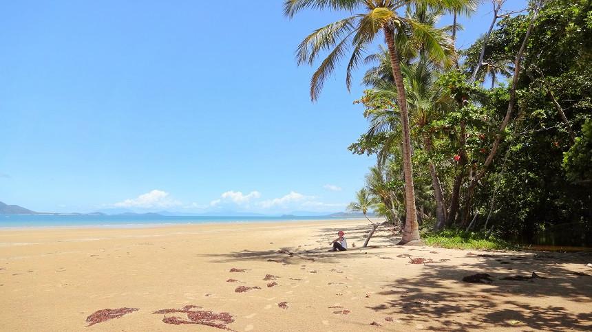 Mission Beach Strandabschnitt