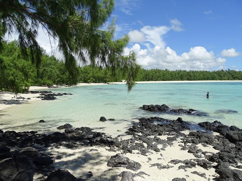 Nichtstun auf Ile aux Cerfs - Mauritius