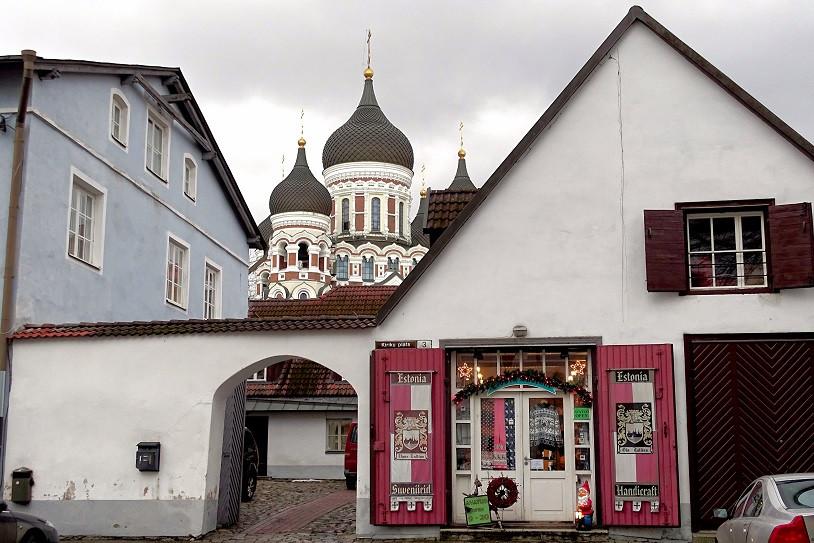 Blick auf Alexander-Newski-Kathedrale - Tallinn