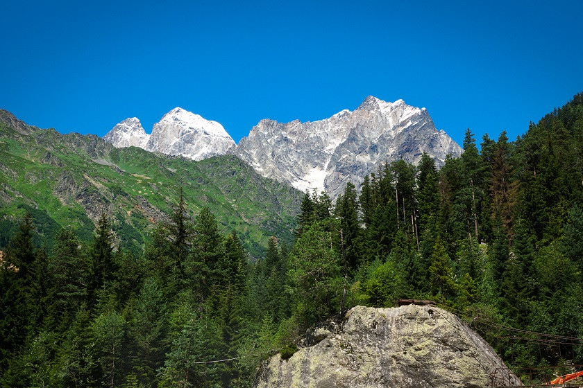 Chalati Gletscher Wanderung - Mestia Swanetien
