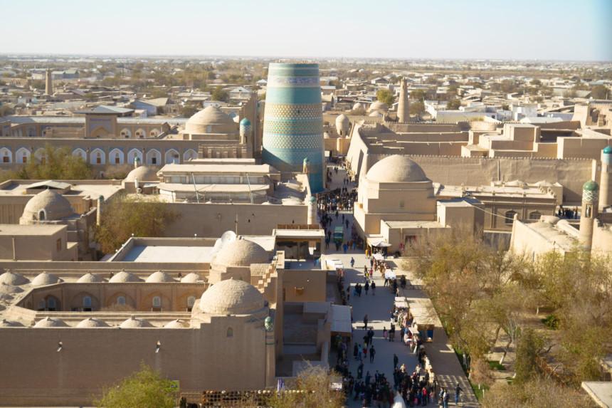 Khiva von oben