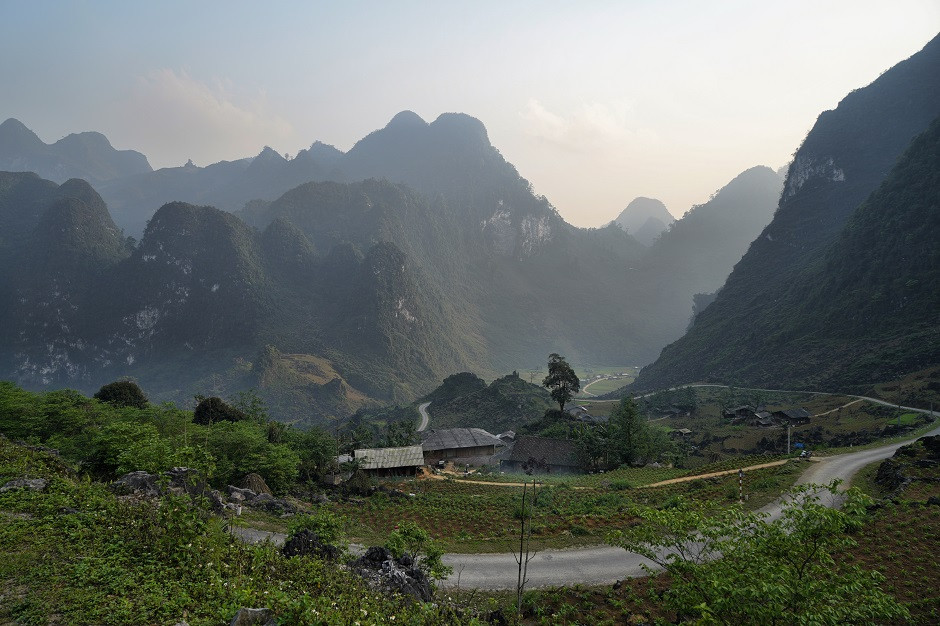 Landschaft bei Du Gia
