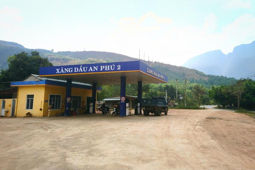 Tankstelle in Vietnam