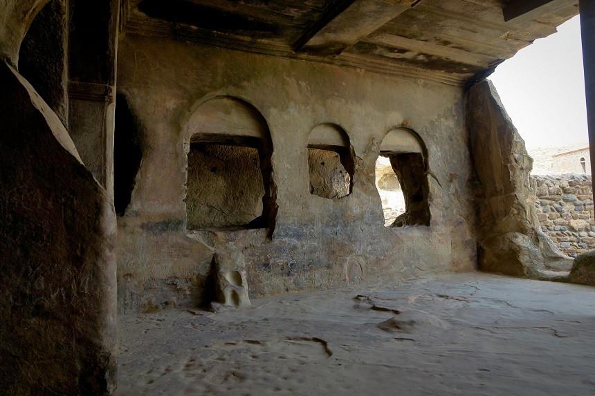 Halle der Königin Tamar in Uplistsikhe