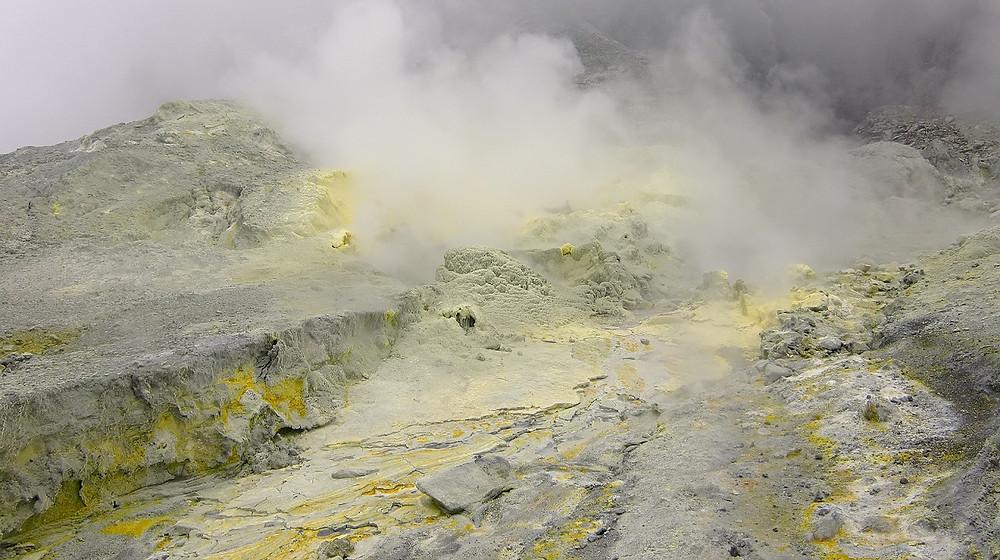 Sulfur Ablagerungen