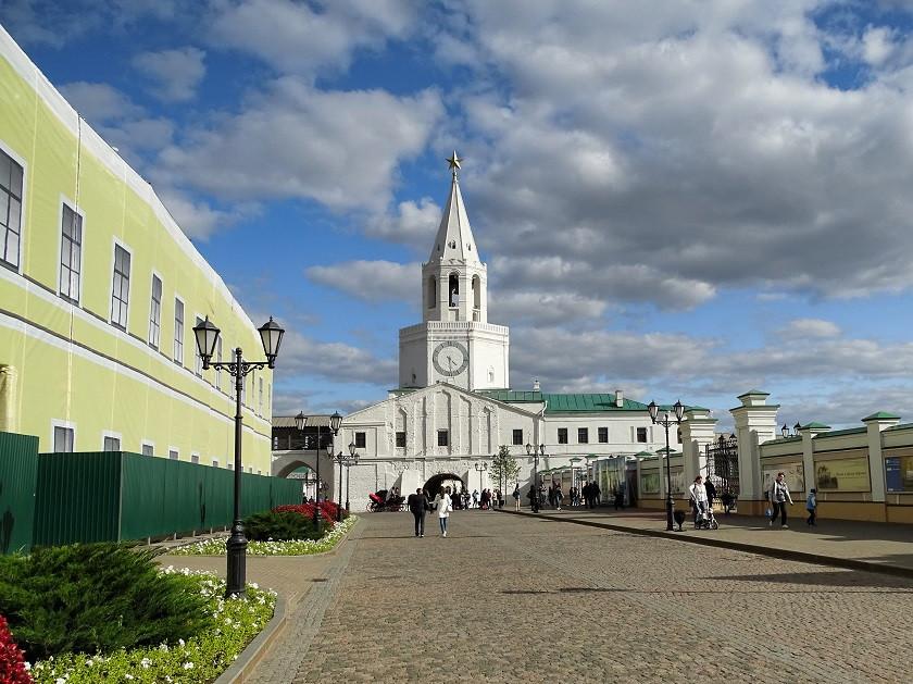 Eingang zum Kreml am Spasski Turm - Kasan