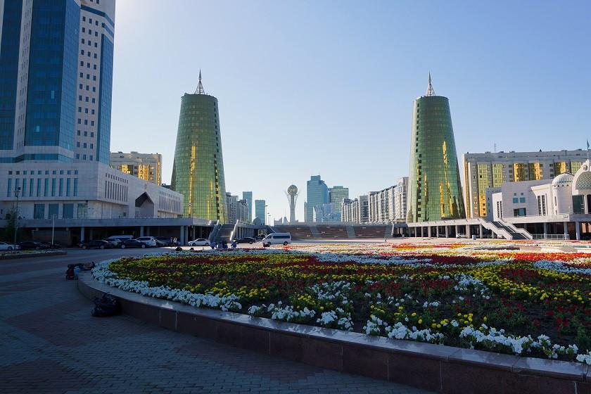 Astanas Architektur